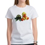 Frog and Ducky friends Women's T-Shirt
