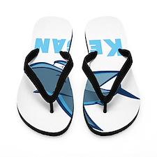 Personalized shark Flip Flops