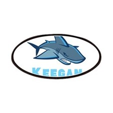 Personalized shark Patches