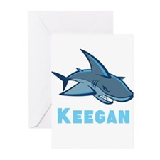 Personalized shark Greeting Cards (Pk of 10)