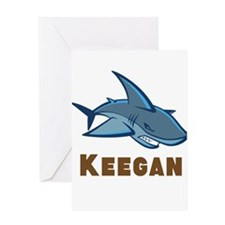 Personalized shark Greeting Card