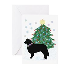 Yuletide Collie Greeting Cards (Pk of 10)