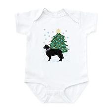 Yuletide Collie Infant Bodysuit