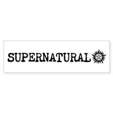Funny Misha collins Bumper Sticker