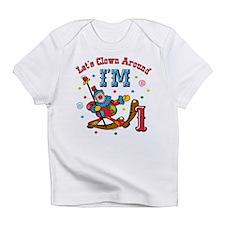 Clown Around 1St Birthday Infant T-Shirt
