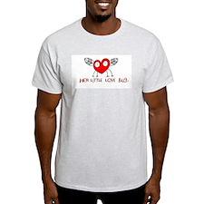 Her Love Bug Ash Grey T-Shirt
