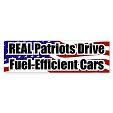 REAL Patriots... Bumper Bumper Sticker