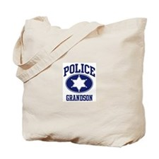 Police GRANDSON (badge) Tote Bag