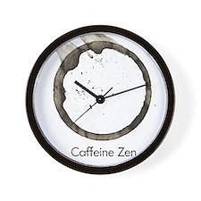 Caffeine Zen Wall Clock