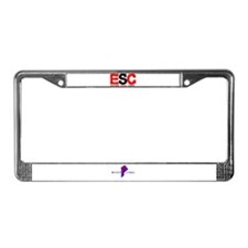 Cool Ride License Plate Frame