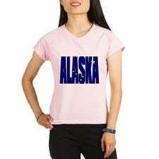 Alaska Flag Performance Dry T-Shirt