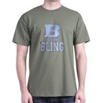 B is for Bling Dark T-Shirt
