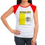 Vatican City Flag Women's Cap Sleeve T-Shirt