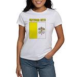 Vatican City Flag Women's T-Shirt