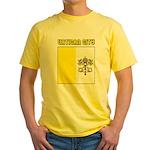Vatican City Flag Yellow T-Shirt