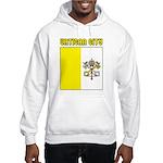 Vatican City Flag Hooded Sweatshirt