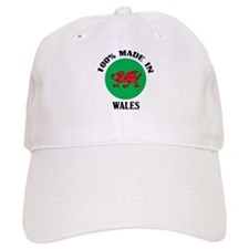 100% Made In Wales Baseball Cap