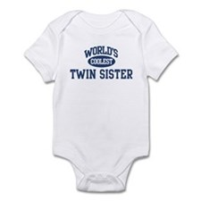 Coolest Twin Sister Infant Bodysuit