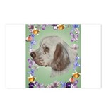 Clumber Spaniel Postcards (Package of 8)