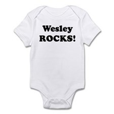 Wesley Rocks! Infant Bodysuit