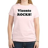 Vicente Rocks! Women's Pink T-Shirt