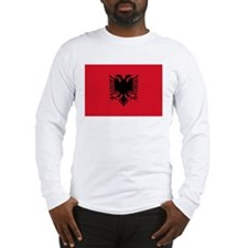 Flag of Albania Long Sleeve T-Shirt