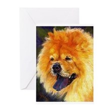 Chow Chow Dog Greeting Cards