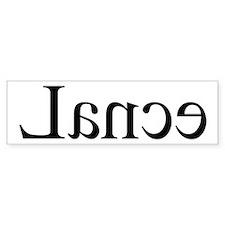 Lance: Mirror Bumper Car Sticker