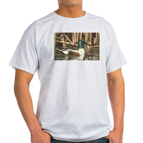 Shoveler Ducks Ash Grey T-Shirt
