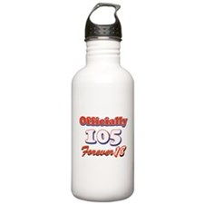officially 105 forever 18 Water Bottle