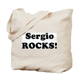 Sergio Rocks! Tote Bag