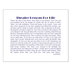 Theatre Lessons for Life Posters