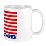 Vote Early, Vote Often Mug