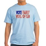 Vote Early, Vote Often Ash Grey T-Shirt