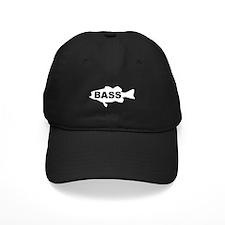 Bass white Baseball Hat