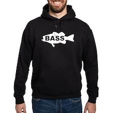 Bass white Hoodie