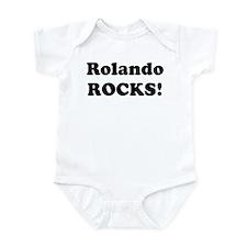 Rolando Rocks! Infant Bodysuit