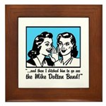 Retro MDB Comic Framed Tile