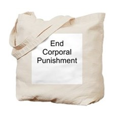 End Corporal Punishment T-Shi Tote Bag