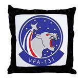 VFA-131 Wildcats Throw Pillow