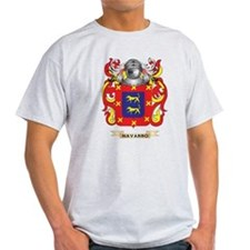 Navarro Coat of Arms (Family Crest) T-Shirt