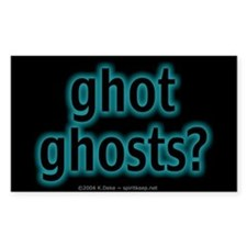 Ghot Ghosts? Rectangle Decal