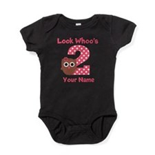 2nd Birthday Owl Baby Bodysuit