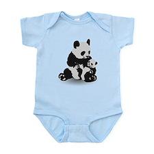 Panda & Baby Panda Body Suit