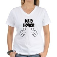 Maid of Honor Thumbs Up Shirt