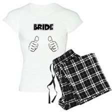 Bride Thumbs Up Pajamas