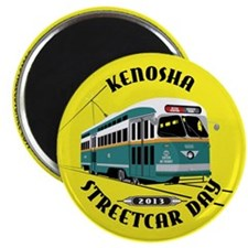 Kenosha Streetcar Day 2013 Magnets