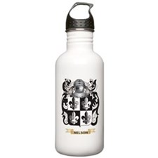 Nelson Coat of Arms (Family Crest) Water Bottle