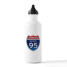New Jersey Interstate 95 Water Bottle