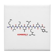 Kimberly molecularshirts.com Tile Coaster